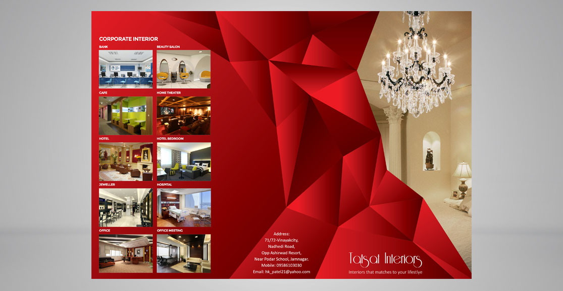 Trifold Brochure Front Design